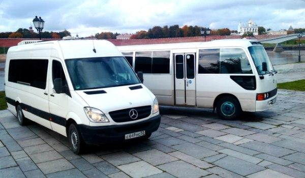 Автобусы на площади