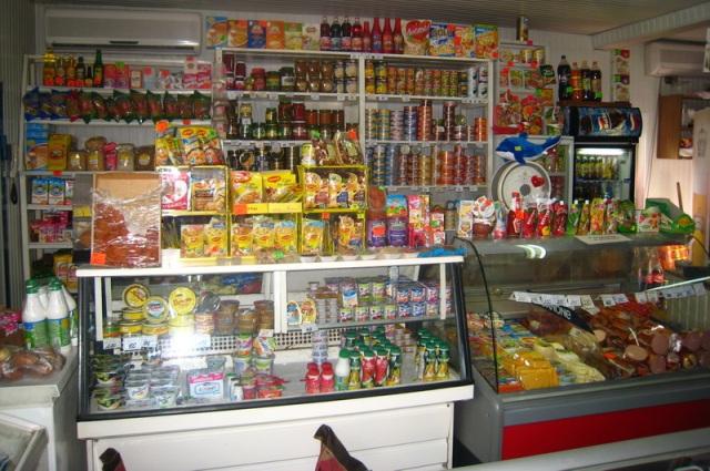 Стандартный ассортимент киоска с продуктами