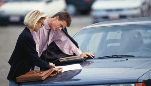 Оформление документов на машину