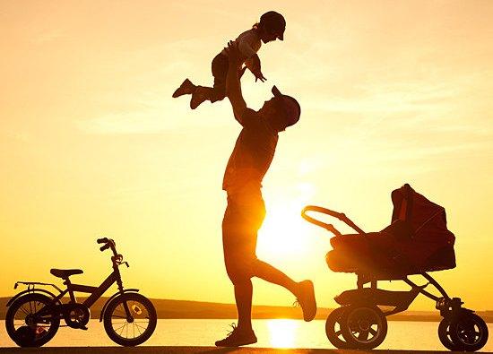 Ребенок и папа